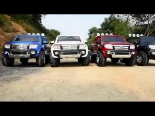 Двухместный детский электромобиль Ford Ranger 2015 selavi.com.ua