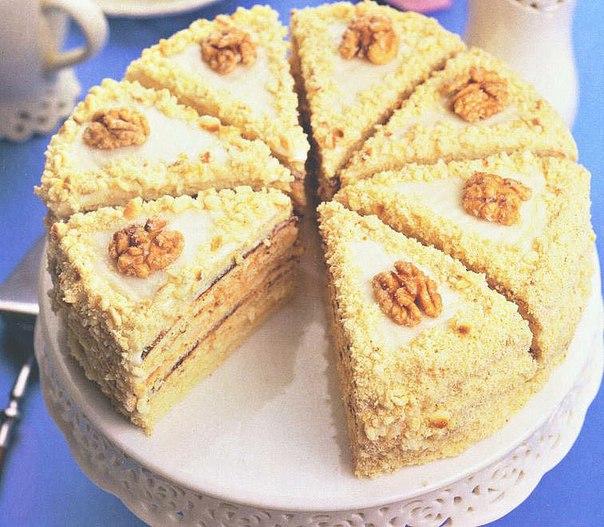 Тортик без духовки рецепт с фото