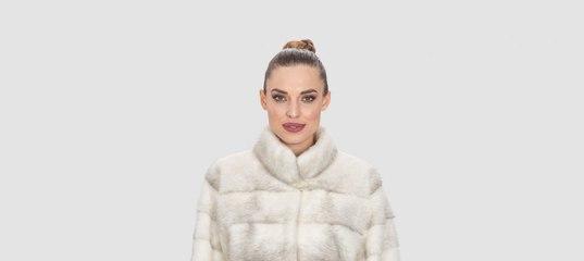 a029700071 Saphire Cross Mink Fur Jacket - Haute Acorn www.hauteacorn.com