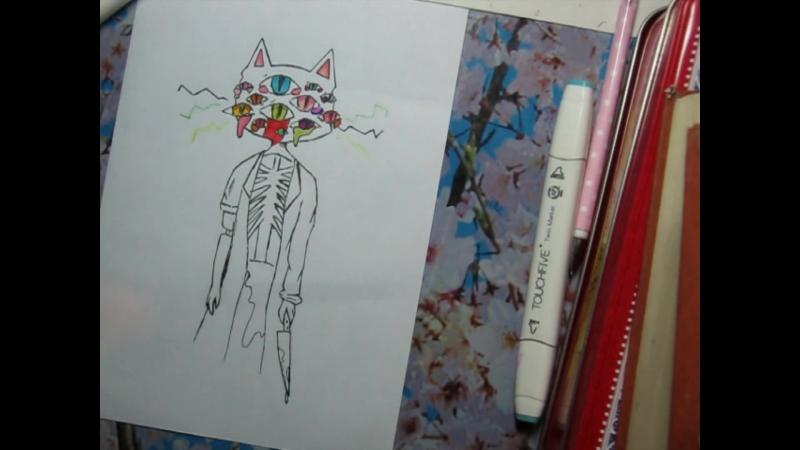 SpeadArt CrBa Arai Депрессия яркими красками