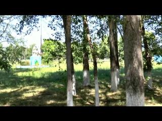 Центр села БУРКОТОВО муз.Азамат Исенгазин-В далёком Казахстане и Ник Судаков -Село родное