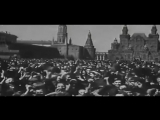 Салют Победы. 1945 года 9 мая, Москва.