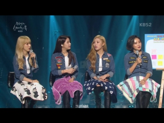 [VIDEO]160902 MAMAMOO интервью @«Yoo Hee Yeol's Sketchbook»/