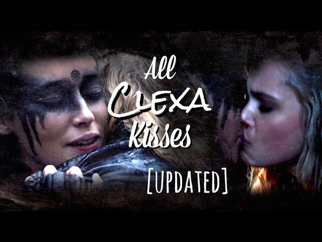 All Clexa Kisses