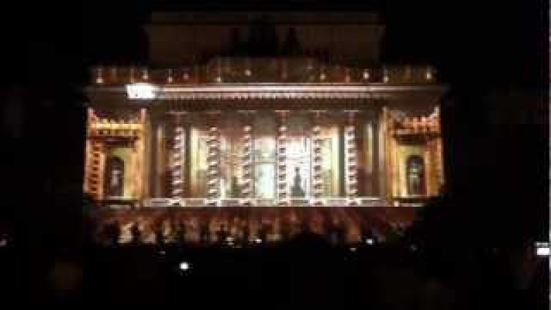 3D Mapping on Alexandrinsky Theatre, Saint-Petersburg, Russia