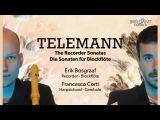 Telemann The Recorder Sonatas (Full Album) played by Erik Bosgraaf