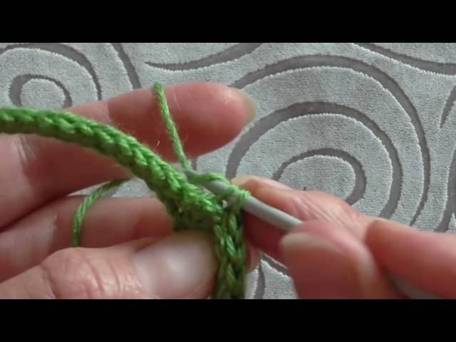 резинка 1х1 крючком СОЕДИНИТЕЛЬНЫЕ СТОЛБИКИ slip stitch crochet
