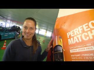 Parking Challenge with Ana Ivanovic - Porsche Tennis Grand Prix 2016