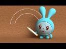 Малышарики - Умные песенки - Цветное и бесцветное