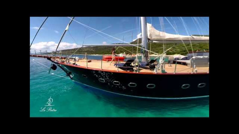 Charter LE PIETRE luxury gulet turkey sailing yacht greece bodrum location voilier luxe turquie