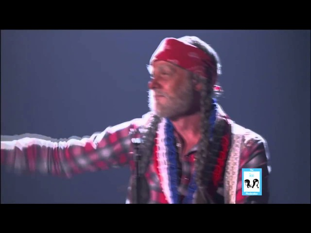 Sebastian Bach as Willie Nelson on Sing Your Face Off LIVE 6 7 14 2015