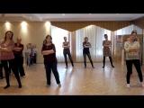 танец мам с дочками часть1