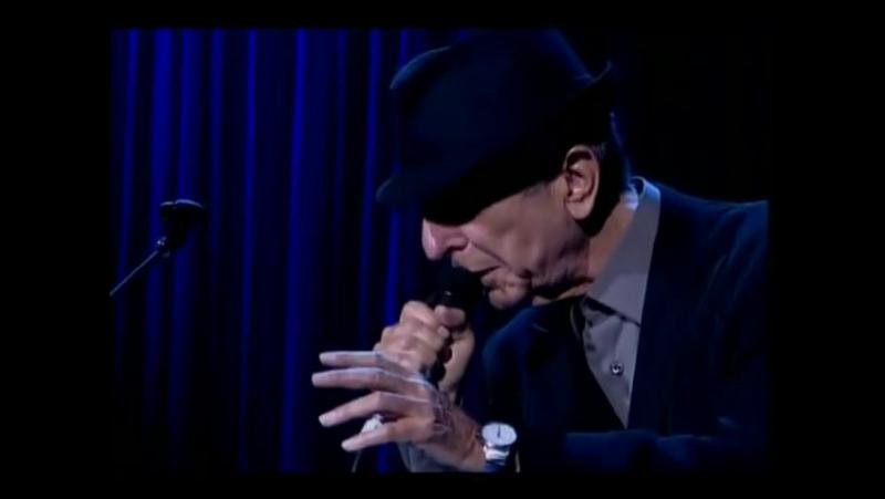 Leonard Cohen -First we take Manhattan