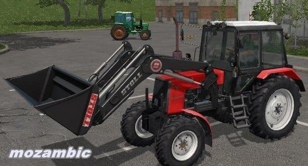 Мод трактор МТЗ 1025 Kun v 1.0