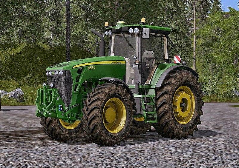 Трактор John Deere 8530 V 2.0
