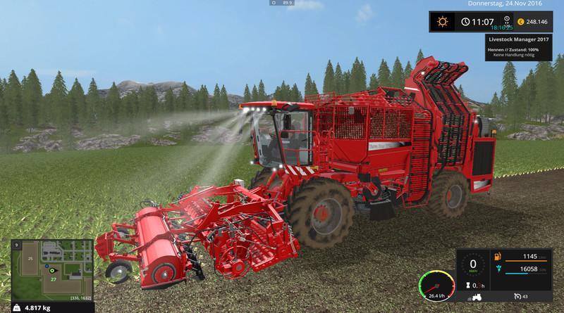 Комбайн Holmer TerraDos T4-30 v 2.0