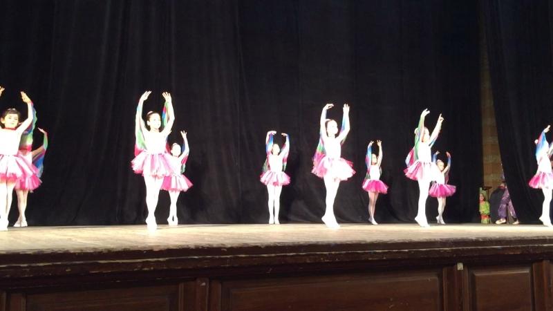 Дебют моей маленькой балерины