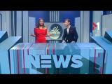 Алан Бадоев и Макс Барских в сюжете M1 Music Awards News