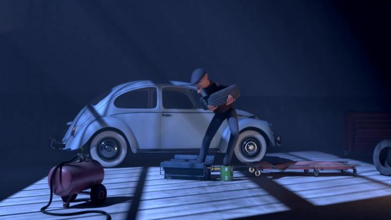 Гоп-стоп \ Fric Frac (2016) Короткометражный мультфильм