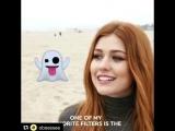 Kat_McNamara Photoshoot #Emojifiles   Via @obsessee