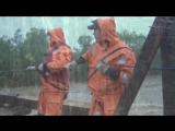 Работа спасателей ДВРПСО МЧС России_ликвидация последствий тайфунов в Приморском крае