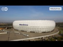 Альянц Арена - родной стадион мюнхенской Баварии - DailyDrone (2016) - Allianz Arena, Мюнхен, Бавария