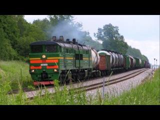 Тепловоз 2ТЭ10У-0221 / Diesel locomotive 2TE10U-0221
