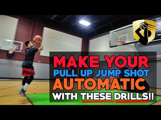 How To: Develop A Deadeye Mid Range Pull Up Jump Shot   Basketball Shooting Drills