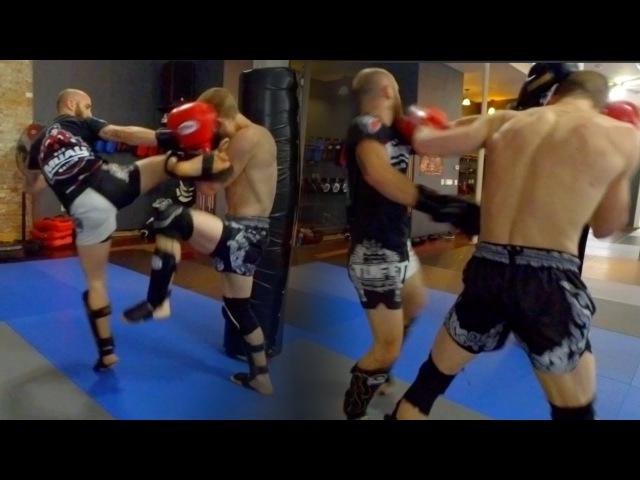 Muay Thai Sparring Session Breakdown
