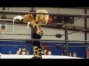 Bigger Girl Wins: Amber O'Neal Gallows Vs Adriana, Female Wrestling Squash Match