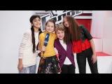 Милана Мирзаханян, Всеволод Рудаков и Анна Мошкорина. Интервью после песни на вылет. Голос.Дети-3
