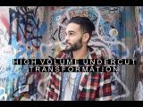 High Volume Undercut Hairstyle | Long to Medium Haircut Transformation | Radamel Falcao Inspired