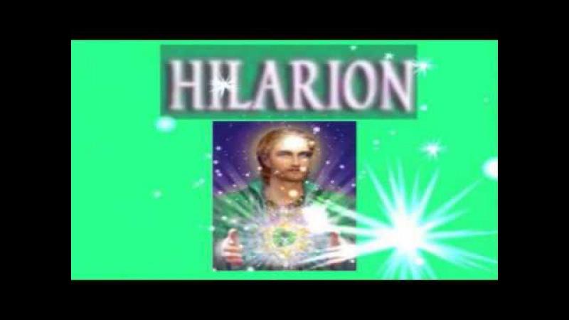 CANALIZAÇÃO - Mestre Hilarion - Visualizem pequenos sóis...