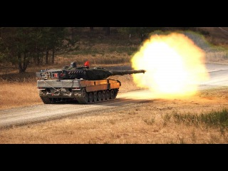 The Leopard 2 Main Battle Tank - Germanys Most Advanced Battle Tank In Action