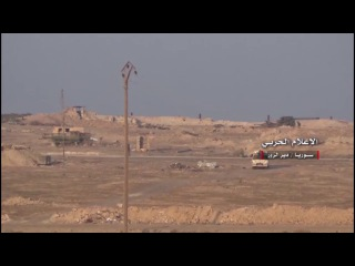 Continuing clashes in Deir al-Zour and the Syrian army targets Daesh mechanisms and points of deployment