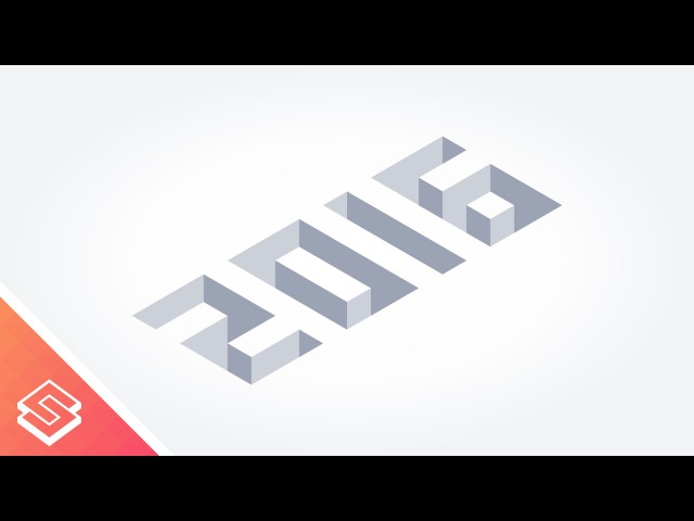 Inkscape Tutorial: Isometric Numbers
