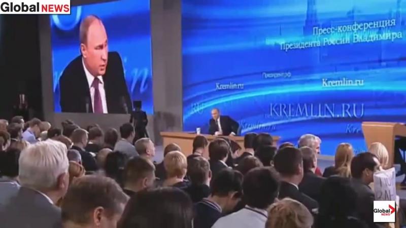 Жесткий ответ Путина западному журналисту-провокатору.
