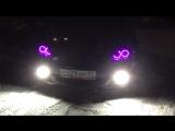 Ангельские глазки RGB 26 цветов Mazda 3
