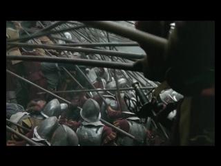 Сирано де Бержерак (1990). Сражение эпохи Тридцатилетней войны. Штурм испанцами лагеря французов