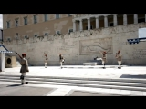 GREECE, Change of Guard, tomb of the unknown soldier in ATHENS
