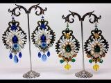 Как сделать серьги барокко в стиле Дольче Габбана. Мастер-класс. Dolce &amp Gabbana. D&ampG