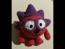Смешарик Ежик Мастер класс Часть 1я Вязание крючком amigurumi crochet