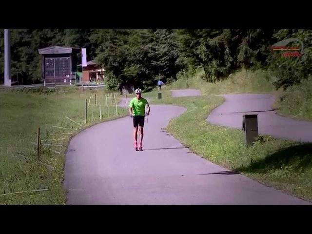 DSV-Experten-Tipps   Training mit Rollski (Skilanglauf - Klassische Technik)