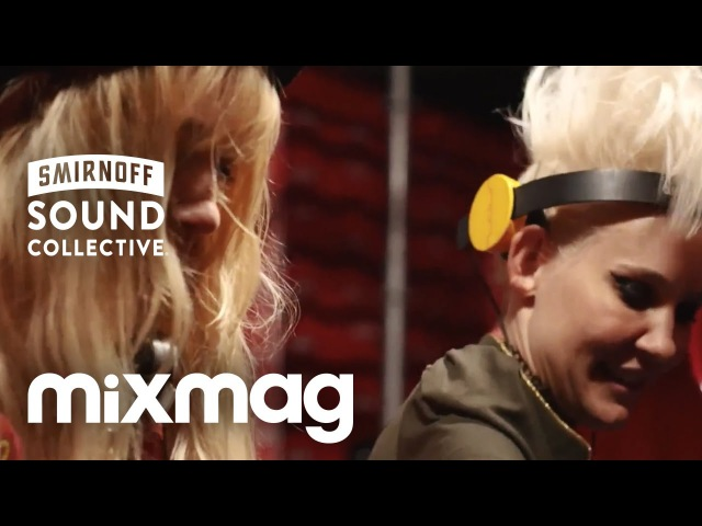 NERVO house set in The Lab at Creamfields SmirnoffHouse