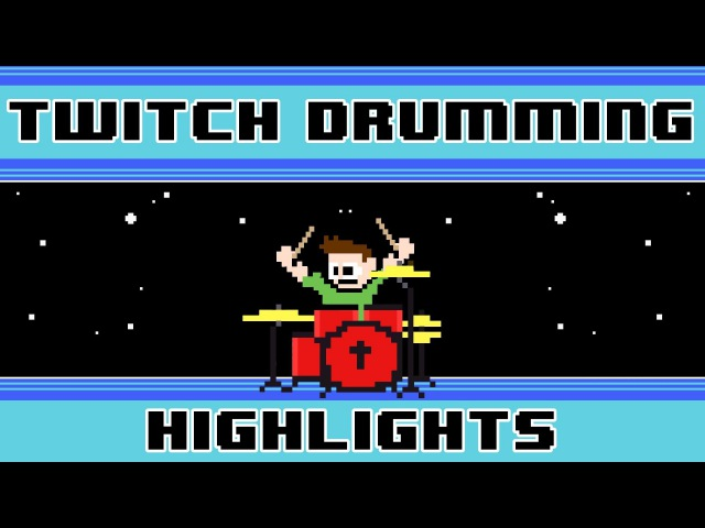 Furioso Melodia (Blind Drum Cover) -- The8BitDrummer