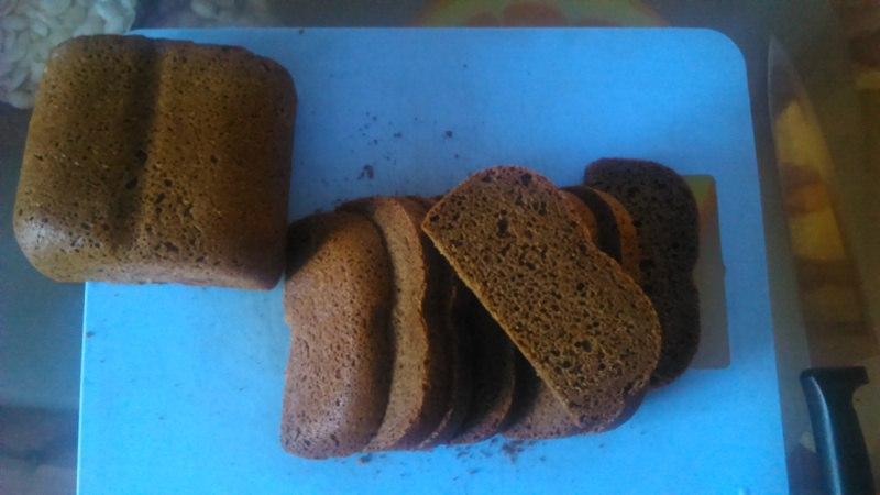 Gorenje BM900W. Бородинский хлеб на опаре