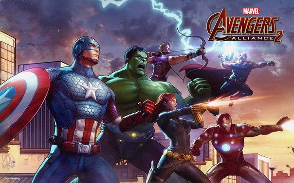 Скачать взломанный Мстители: Альянс для Андроид