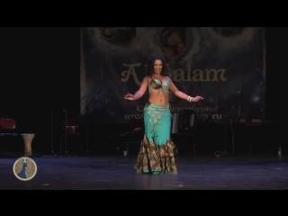 Al Salam Bellydance Festival 2012, Karolina Yakumaite, 1 st place Tabla solo