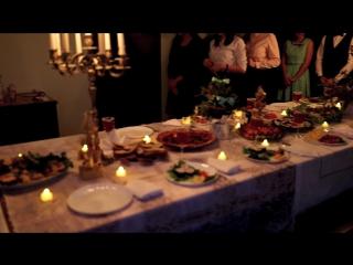 Украшение праздничного постного стола (этикет) в семейном клубе