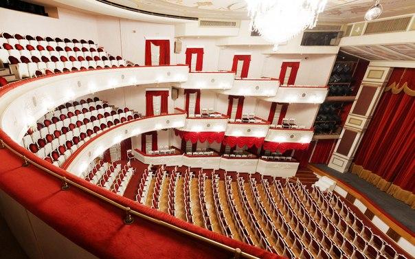 Малый театр схема и зала
